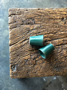 Small Storage Ceramic, Deep Teal/Green/Blue, Smooth, Handmade