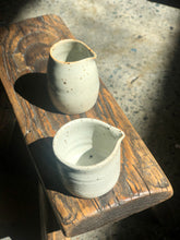 New: Tiny Cream/Milk Jug: Special Design, Milky white, Natural colour, Speckled (Designed by Sai's in NZ & AU)