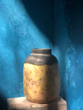 Small: Yellow-Gold Vase, Glazed, Rustic Shades, Handmade