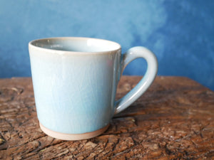 Light blue Celadon mug