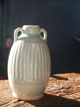 Green Caladon Jar with Handles (I)