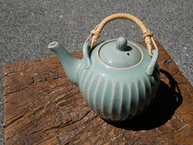 Green Celadon Tea Pot
