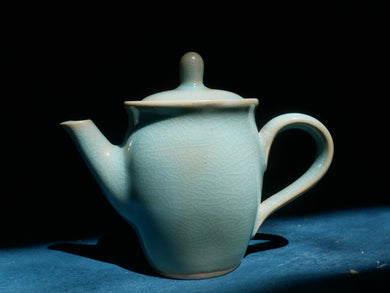 Blue Celadon Tea Pot