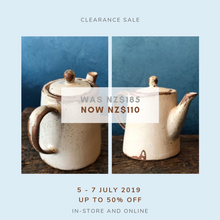 SOLD OUT | Small Milk Jug, Teal, Uneven Rim, Smooth, Handmade
