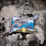 Hippogryph morale patch on rock face