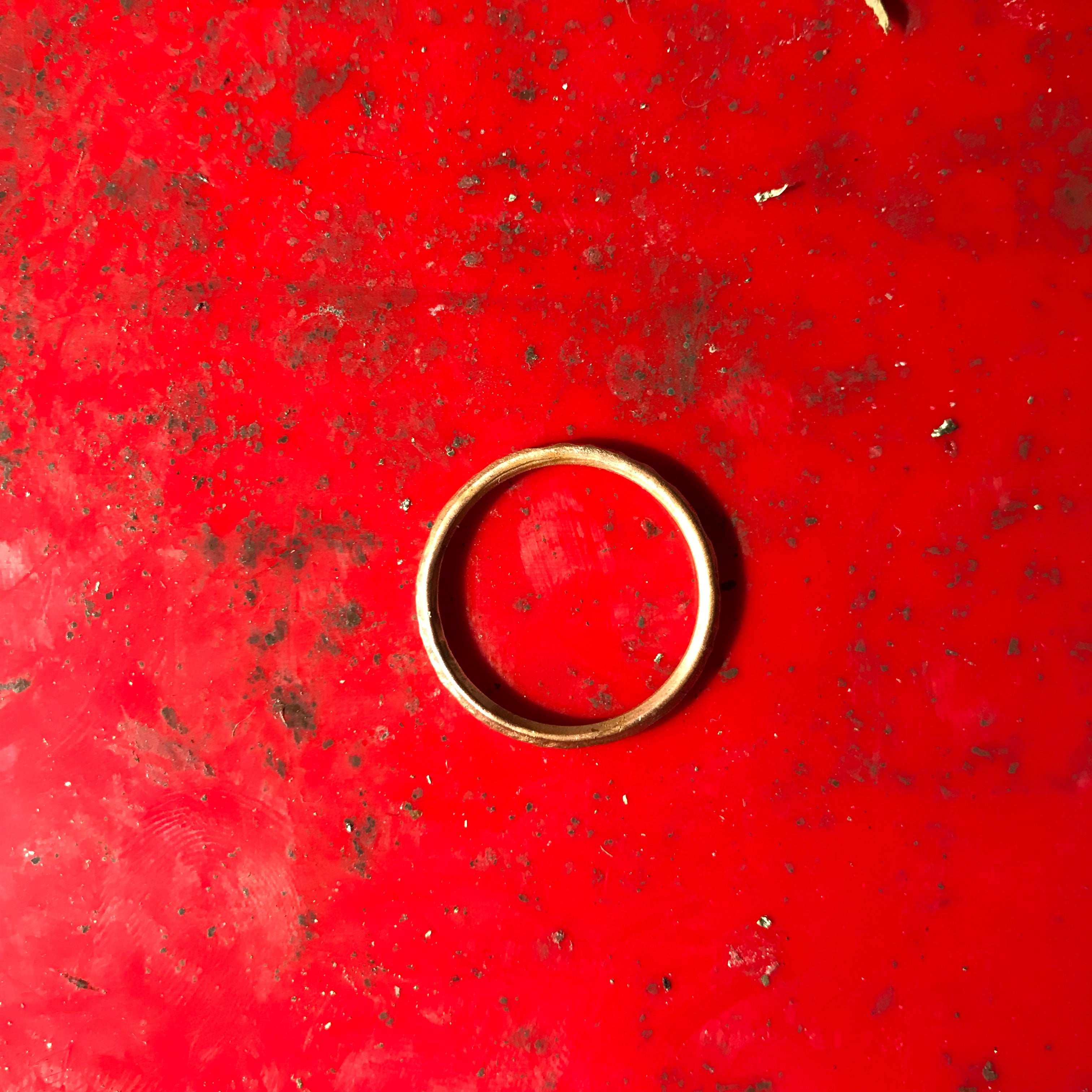 Copper stacked ring (single or stacked, Polished)