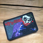 Joker Why so serious rubber morale patch
