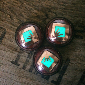 Glow in the dark ranger eyes of iron sights copper made