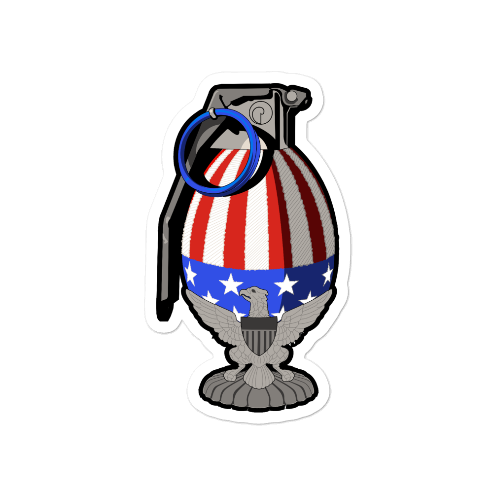 Merica frag Bubble-free stickers