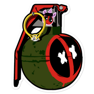 Deadpool frag Bubble-free stickers