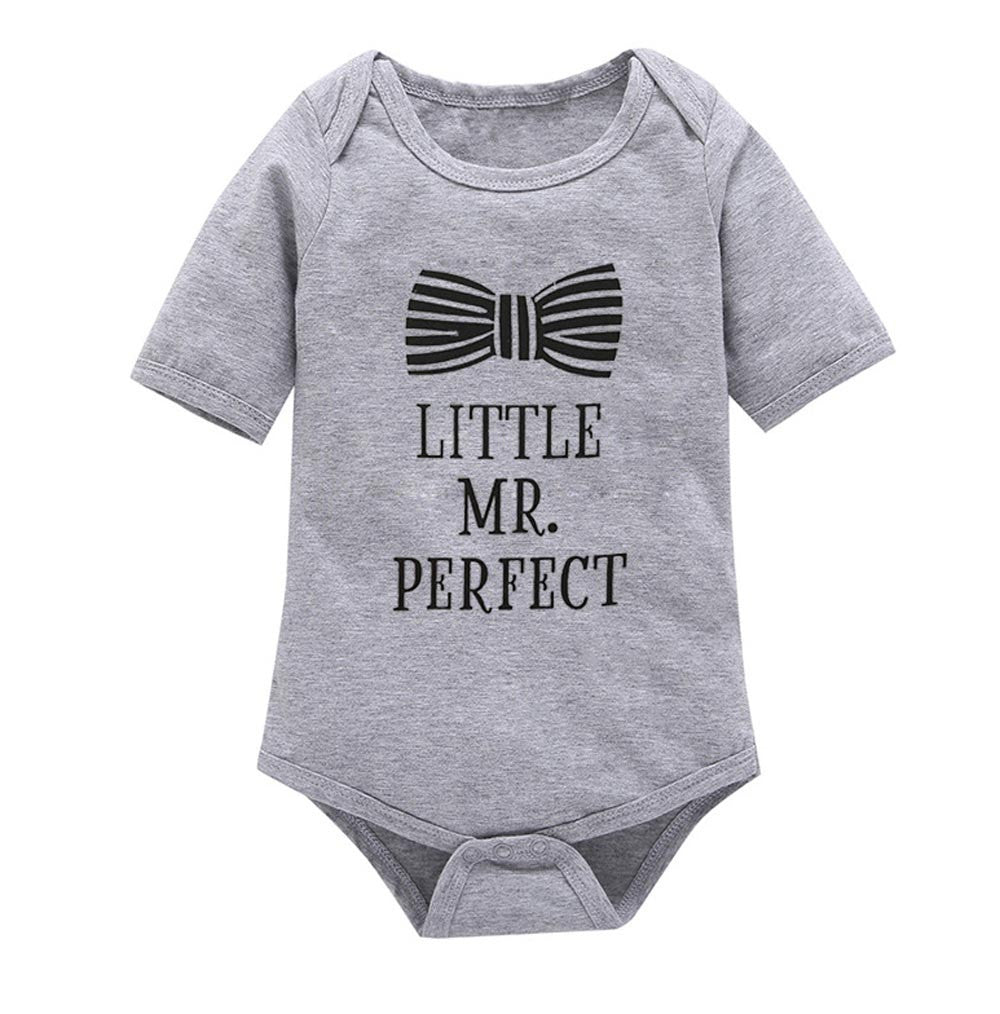 18ac155e8f7 Summer Baby Clothing Baby Boys Clothes Girls Short Sleeves Letter Rompers  Infant Toddler One Pieces Jumpsuit ...