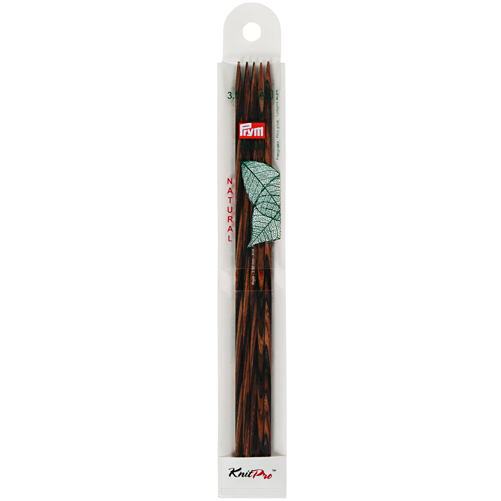 KnitPro Double-pointed knitting needles, natural, 20cm by Prym