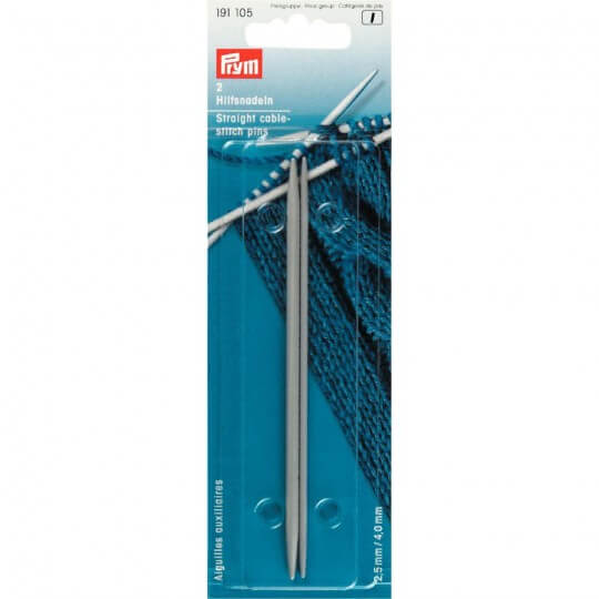PRYM STRAIGHT CABLE STITCH PINS 2/CARDS
