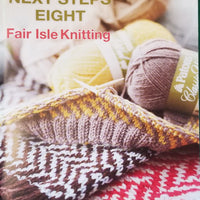 "Patons ""Next Steps Eight"" Fair Isle Knitting"