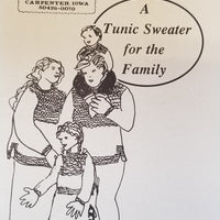 "Cottage Creations ""A Tunic Sweater for the Family"""