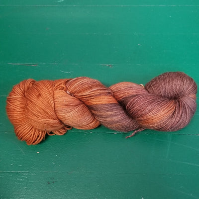 Dynamic Sock Yarn by Elegantly Twisted