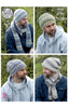 Hats and Scarves Pattern by King Cole (4608)