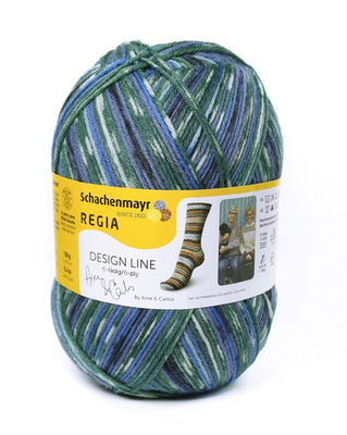REGIA Sock Yarn (4 Ply) - Design Line by ARNE & CARLOS