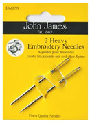 John James Set of 2 Knitters Needles