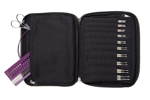 Knit Picks Interchangeable Needle Case - Black