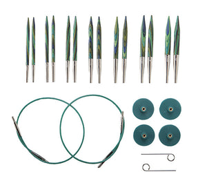Options Short Interchangeable Needle Set by Knit Picks