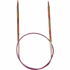 KNIT PICKS Rainbow Wood Circular Knitting Needles 40 cm/16""
