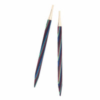 "Foursquare Majestic Wood Interchangeable Circular Needle Tips 12cm (5"") by KNIT PICKS"