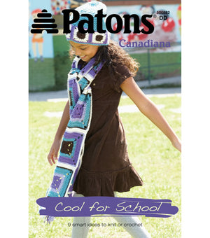 "Patons Canadiana ""Cool For School"""