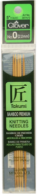 Takumi Bamboo Double Point 13cm (5