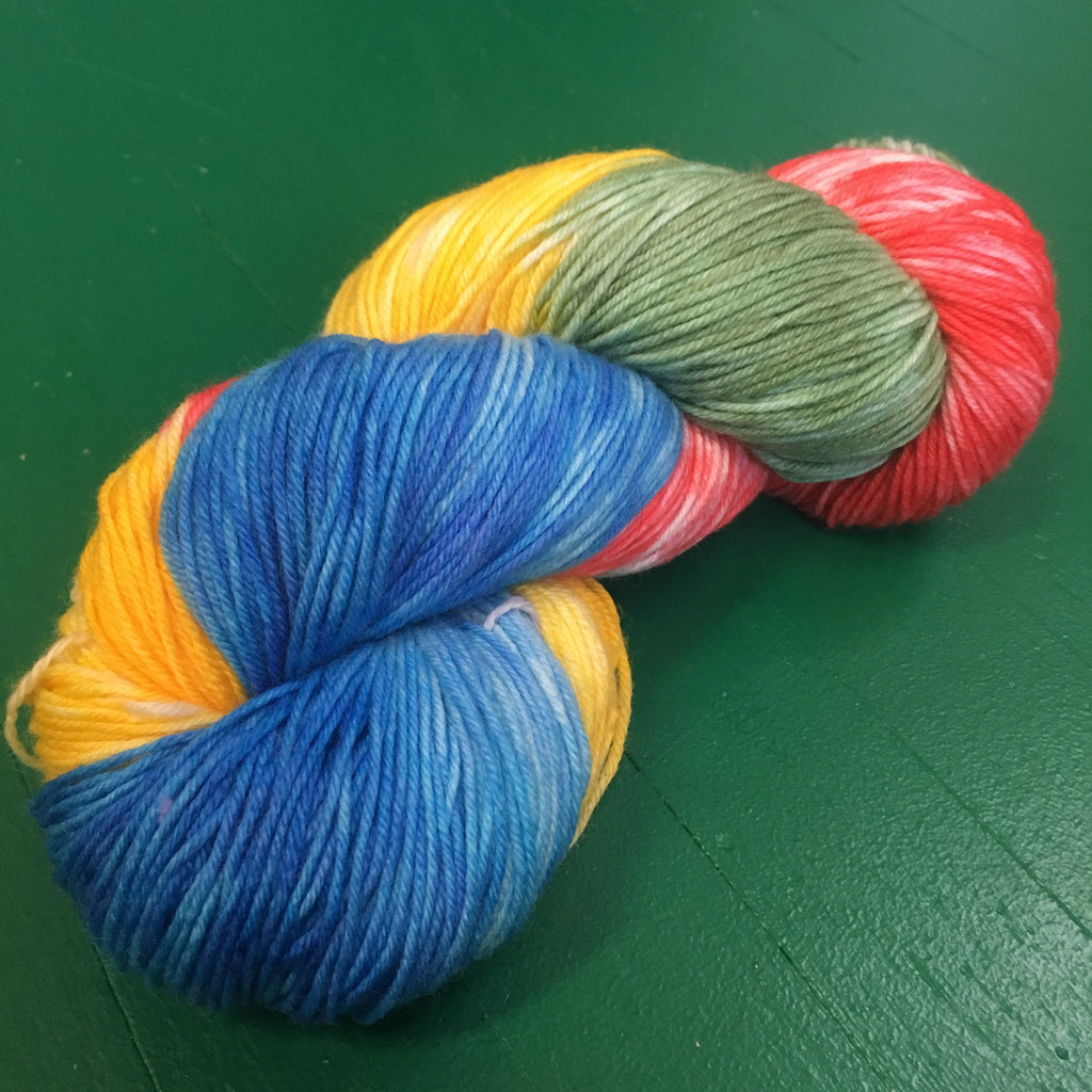 Sock Yarn by Wooly Hooker