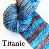 Bis-Sock (Self-Stripping) by Biscotte Yarns