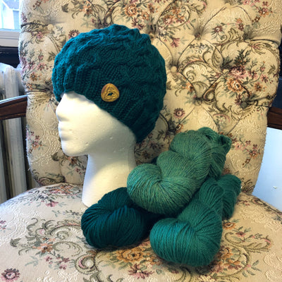 Celtic Hat Kit by Wool Trends