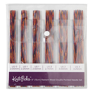 Double Point Knitting Needle Set 15cm (6