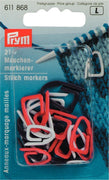 Prym Knitting Stitch Markers Pack of 21