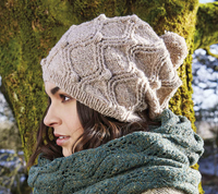 Kitson Hat & Scarf Set Kit by Rowan