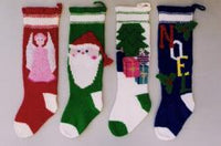 Christmas Stockings II Knitting Pattern