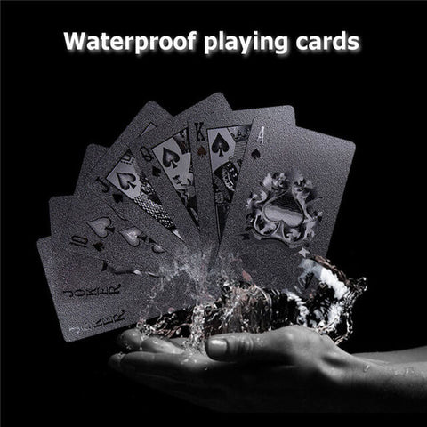COOL BLACK POKER CARDS