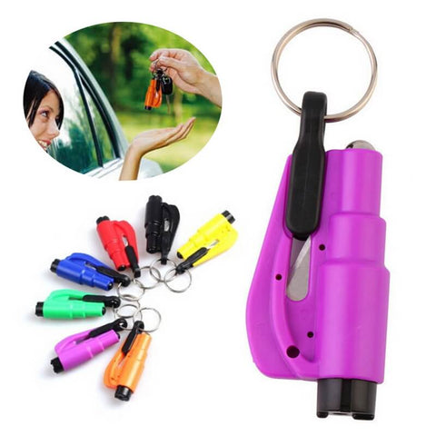 3 IN 1 EMERGENCY MINI CAR SAFETY HAMMER