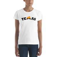 Women's Texas Campfire short sleeve t-shirt