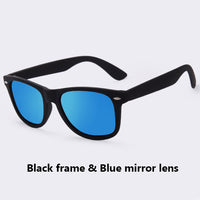 Men's Polarized Sunglasses - Mirrored lenses - Free replacement for life!