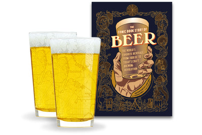 City Pints and Book Gift Set