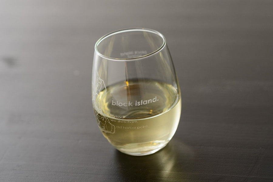 Block Island Stemless Wine Glass