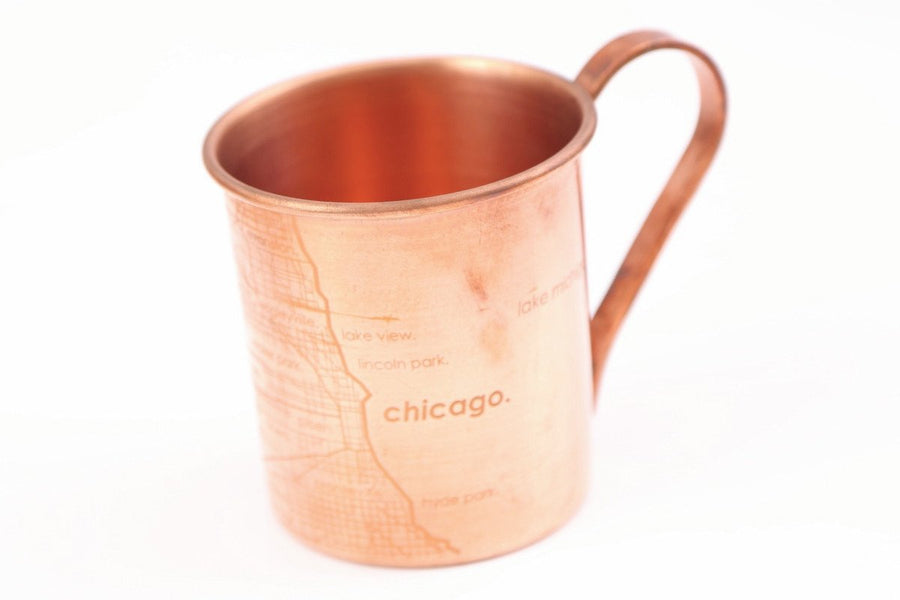 Copper Mug - Chicago Map
