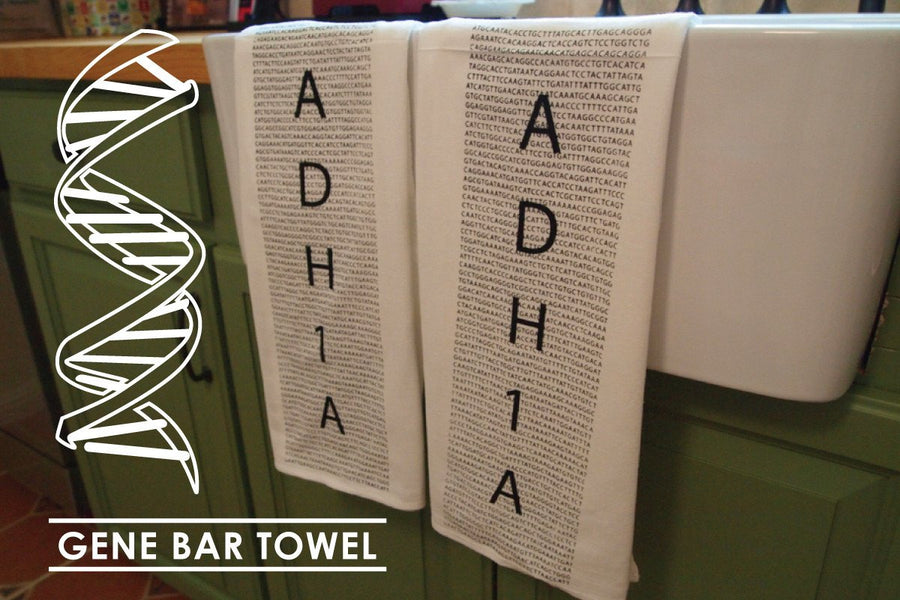 Gene Bar Towel, Pair