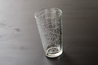 Houston 26.2 - Marathon Map Pint Glass
