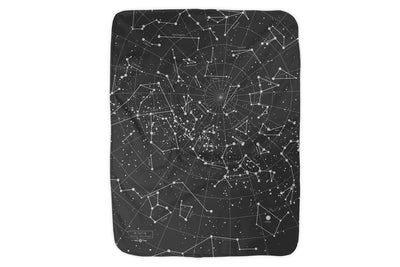 Night Sky Fleece Blanket