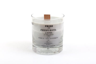 Pride and Prejudice Candle - Earl Grey and Lemon