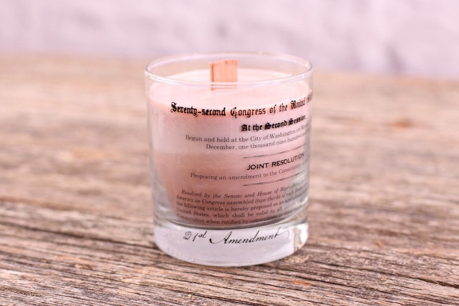 Prohibition Candle - Sweet Bourbon