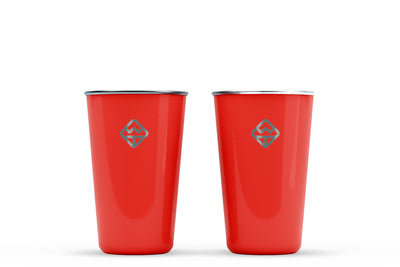 Stainless Cups - 16oz - Well Told Brand