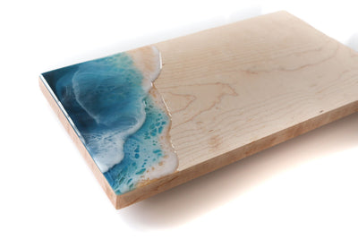 "Ocean Wave Serving Board - 7""x14"""